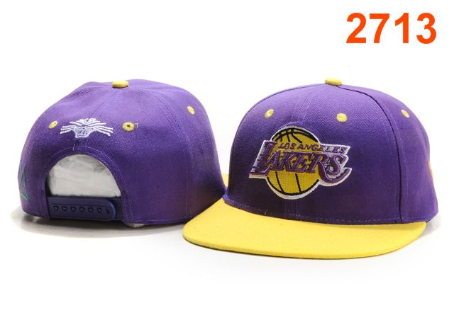 Los Angeles Lakers TISA Snapback Hat PT20
